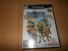 Final Fantasy Crystal Chronicles-Nintendo GameCube NUEVO PRECINTADO PAL