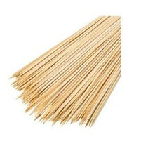 """100 pinchos de bambú brochetas de Barbacoa Satay Barbacoa Carne Largo palos 10"""" 260X3mm"""