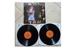 VIKKI CARR * LIVE AT THE GREEK THEATRE * 2XLP + G/F SLEEVE CBS 68280 PLAYS GREAT