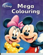 Disney Mickey Mouse: Mega Colouring Book
