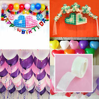 2roll 100 Dots Glue Permanent Adhesive Bostik Wedding Party Balloon Decor NEW