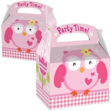 Amscan Favours Party Boxes Owl - 75 PC - 997418