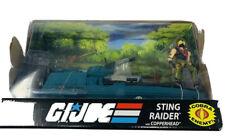 Hasbro 2008 G.I. Joe 25th Anniversary 3.75 Vehicle Sting Raider With Copperhead