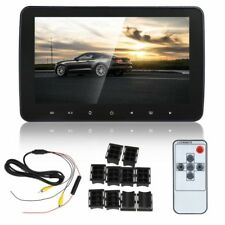 "10"" Car 1080P Hd Digital Lcd ScreenHeadrest Monitor Video Audio Mp5 Tv Player"