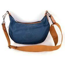 Lauren Ralph Lauren Travel Bag Zip Closure Blue Small Crossbody Messenger Bag