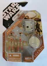 STAR WARS PIT DROIDS 2-PACK FAN'S CHOICE SAGA LEGENDS FIGURES + COLLECTOR COIN