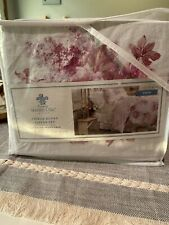 New Simply Shabby Chic Blush Bouquet 2 Pc Twin Duvet Cover Set