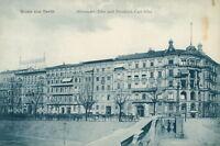 Ansichtskarte Berlin Alexander-Ufer und Friedrich Carl-Ufer um 1910 (Nr.9299)-I