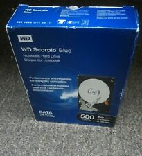 New Western Digital WD Scorpio Blue WDBABC5000ANC 500GB Internal Hard Drive