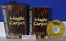Magic Carpet Sega Saturn (1996) OVP NEUWARE mit Lagerspuren