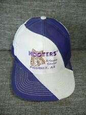 d282e91c98bb6 Vtg 90s HOOTERS RESTAURANT Phoenix Arizona Waitress SNAPBACK HAT Baseball  Cap