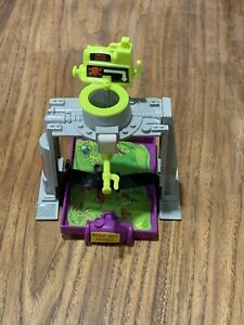 Vintage 1989 TMNT Crazy Artillery Flushomatic Ninja Turtle Toy Torture Tray