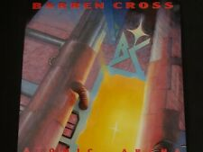 "Barren Cross ""Atomic Arena"" Original LP. 1st pressing w/insert. 1988. RARE !"