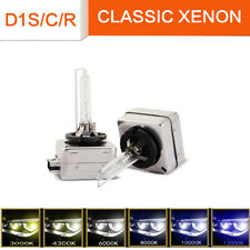 2 x D1S D1C 35W Xenon 6000K HID Headlight Bulb Compatible With 66043 66144 85410