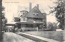 1910 Montclair Club Monclair NJ post card