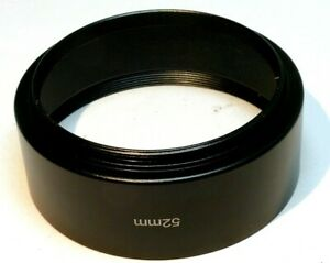 52mm Lens Hood Shade screw in type metal for 85mm f2.8 f2 100mm telephoto