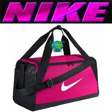 ed779ee31e77 Nike Brasilia Small Duffel Bag BA5335 Rush Pink Black White Gym Bag Training