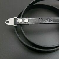 Leather Neck Strap Belt With Lugs For Mamiya M645 medium Format Camera New