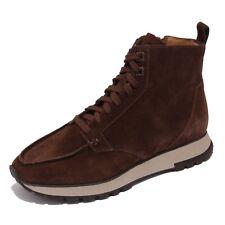5229AB anfibio uomo SANTONI suede brown boot shoe men
