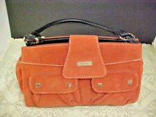 Womens Purse Miche Orange Corduroy 12 x 7 x 5 Magnets for Interchangeable Covers