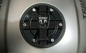 Sticker Fuel Cap Gel 3D Motorcycle Compatible Triumph Speed Triple 1200 Rs