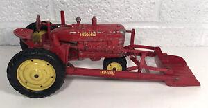 Vintage Carter Tru Scale M Tractor W Loader Farm Toy