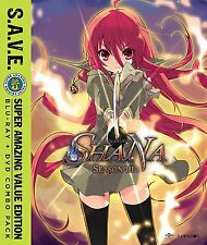 PRE  ORDER: SHAKUGAN NO SHANA - SEASON 3 - S.A.V.E - BLU RAY - Region A - Sealed