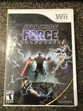 Nintendo Wii - Star Wars The Force Unleashed - Complete - Tested, Working