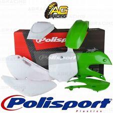 Polisport Plastics Box Kit For Kawasaki KX 65 Green 05/White OEM 13-15 2000-2018