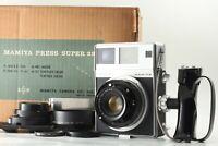 【NEAR MINT w/ Box】 Mamiya Press Super 23 100mm Lens 6x9 6x7 Holder JAPAN #0726