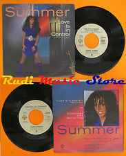 LP 45 7'' DONNA SUMMER Love is in control Sometimes like 1982 italy cd mc dvd*