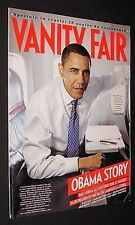 VANITY FAIR=SUPPL. AL N°45 2008=SPECIALE BARACK OBAMA =50 PAGINE