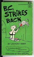 B.C. STRIKES BACK by Hart, rare US Gold Medal cartoon humor pulp vintage pb