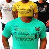 Herren T-Shirt Shirt Shirts Top Qualität Polo Party Clubwear M L XL NEU t.3.7