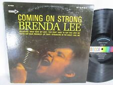 Stereo Brenda Lee LP - DECCA 74825 - COMING ON STRONG