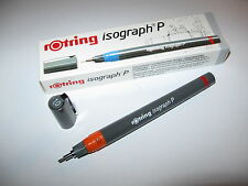 Rotring ISOGRAPH p i remplissage 1,0 MM type. r 181100 original obligations.!!!