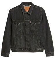 Levi's Strauss Men's Button Front Cotton Denim Trucker Jean Jacket