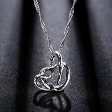 Herzkette Halskette Damen-Kette mit Herz-Anhänger Geschenk für Frauen NEU