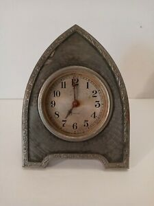 RARE Antique Sessions Art Deco Cathedral Desk Clock (Needs Work)