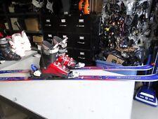 Rossignol Freeride Skis Package FTX Bindings 184cm Size 8.5 Men's US 9.5 Women