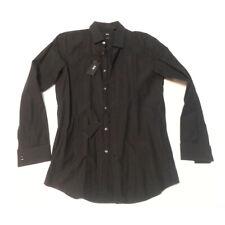 Hugo Boss Men Size 15.5-32/33 Tuxedo Black Shirt