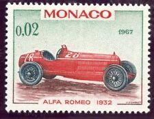 STAMP / TIMBRE DE MONACO N° 709 ** VOITURE DU GRAND PRIX / ALFA ROMEO 1932
