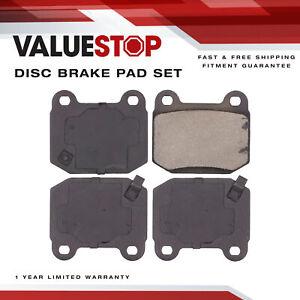 Rear Ceramic Brake Pads for Infiniti G35; Mitsubishi Lancer; Nissan 350Z