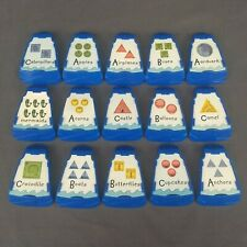 Cranium Cariboo Island Board Game Set of 15 Replacement Doors with Cards 2008