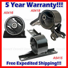 Auto Motor Mount /& Trans Mount Set for 08-13 Mitsubishi Lancer 2.0L w//o Turbo