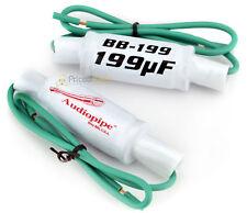Pair BB199 Audiopipe In Line Filter Speaker Bass Noise Blocker Suppressor 199 UF