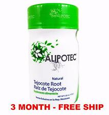 Alipotec Raiz de Tejocote Root 90 Dias 3 Month Supply 100% ORIGINAL FREE SHIP