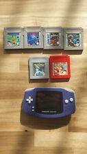 Gameboy Advance + Pokemon und andere Spiele