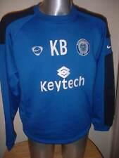 Rochdale NIKE L player worn Training Top Maglione Soccer Maglia Jersey Buckley 2007