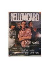 Yellowcard Poster Yellow Card Ocean Avenue Chain Fence